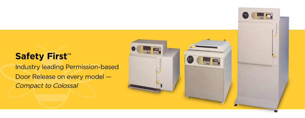 Priorclave Research-Grade Steam Autoclaves