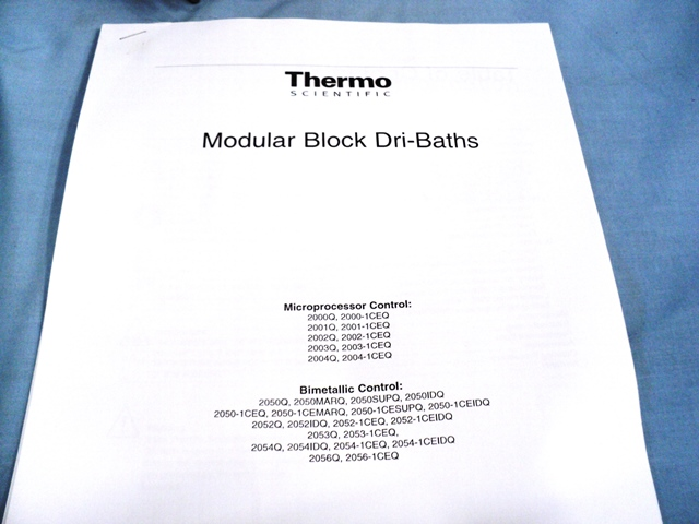 Thermo Scientific 2003Q Modular Block Dri-Bath