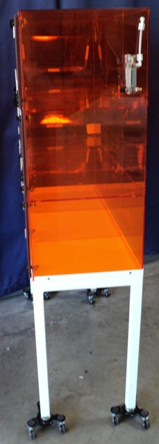 Air Control Hydrovoid® Clean Storage Desiccator Cabinet, UV Shielding Amber Acrylic Construction