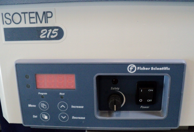Fisher Scientific Isotemp 215 Dual Cavity Digital Water Bath