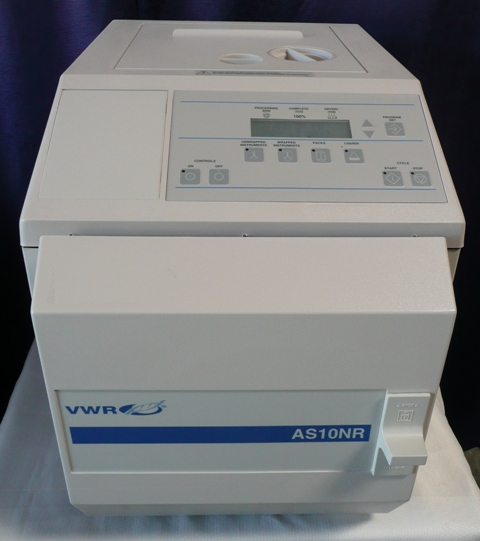 VWR Thermo Scientific BenchTop Steam Sterilizer / Autoclave Model AS10NR, VWR Catalog # 58939-960