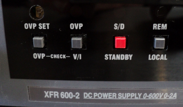 Xantrex XFR-600-2 Programmable DC Power Supply