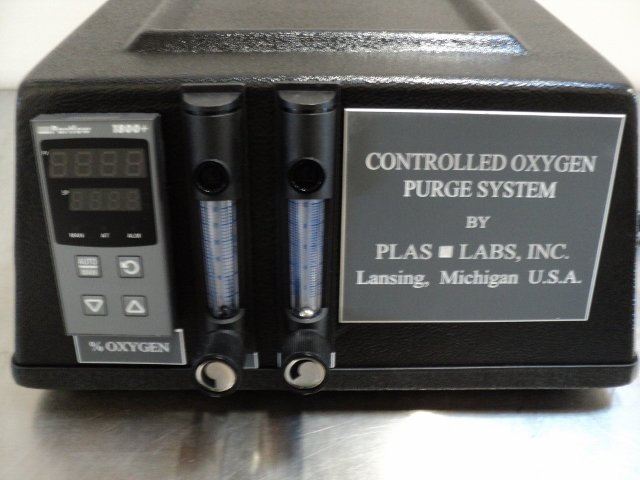 Plas Labs 830 Series Model 830 CP/10 Controlled Atmosphere Compact Glove Box - NEW
