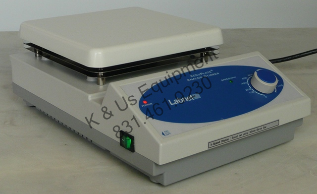 Labnet AccuPlate Analog Magnetic Stirrer / Mixer 7x7 Plate, 120V